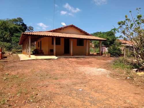 Chácara 1000m2  Bairro Santa Cruz C/padaria,escola,mercado,casa 2 Dorms,sala,cozinha,banheiro,varanda,frente Ao Asfalto,15 Km São Miguel - Ch00042 - 68985772