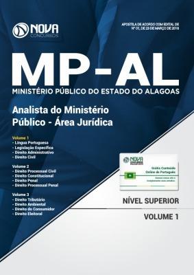Apostila Mp Alagoas Analista Ministério Público Area Judicia