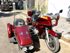 Honda Gold Wing Side Car - Placa Preta