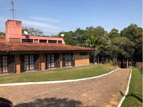 Casa Com 5 Dormitórios À Venda, 668 M² Por R$ 4.100.000,00 - Chácara Santa Lúcia - Carapicuíba/sp - Ca17216