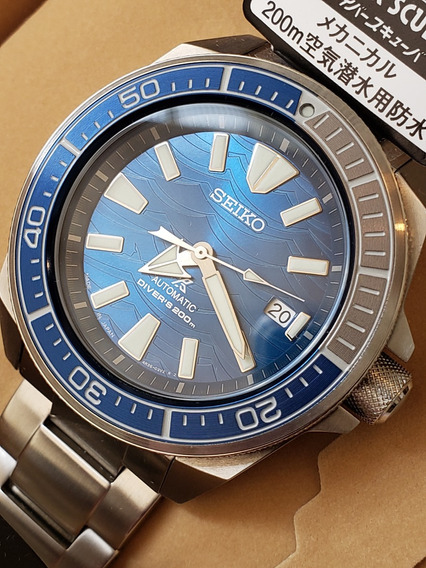 Novo Seiko Samurai Save The Ocean 2019 - Sbdy029 (jdm)