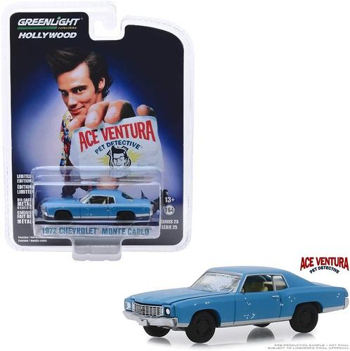 Auto Ace Ventura Chevrolet 1972 Monte Carlo - Greenlight