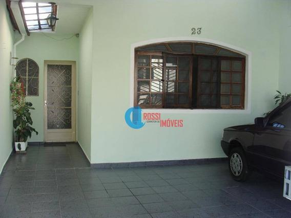 Casa Em São Paulo 4 Dorms(2 Suites) 2 Vagas Perto Do Shopping Aricanduva - Permuta Por Imóvel Na Praia Grande - So0024