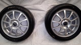 Rin Y Llanta Volvo 195/50 R15 4 114 C/u