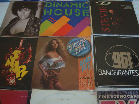 10 Discos De Vinil, Flashouse E Coletâneas Stevie B R$330,00