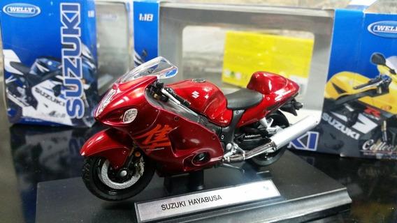 Moto Colección Suzuki Hayabusa G S X 1300r Escala 1/18