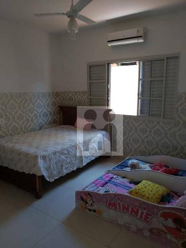 Casa Com 3 Dormitórios À Venda, 200 M² Por R$ 430.000 - Jardim Paulistano - Ribeirão Preto/sp - Ca0825