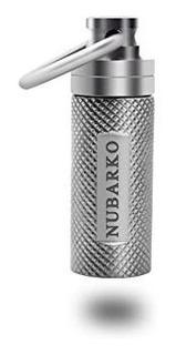 Nubarko Mini Pill Fob, Titanium Keychain Pill Holder, Emerge