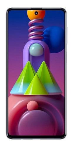 Samsung Galaxy M51 Dual SIM 128 GB branco 6 GB RAM
