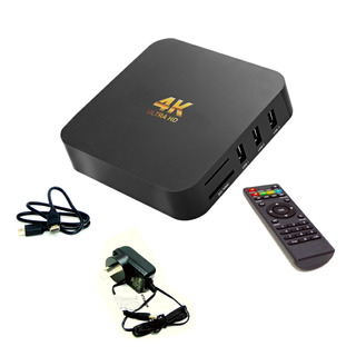 Conversor Smart Tv Android Tv Box Quad Core 4k Mod 2019 Ofer