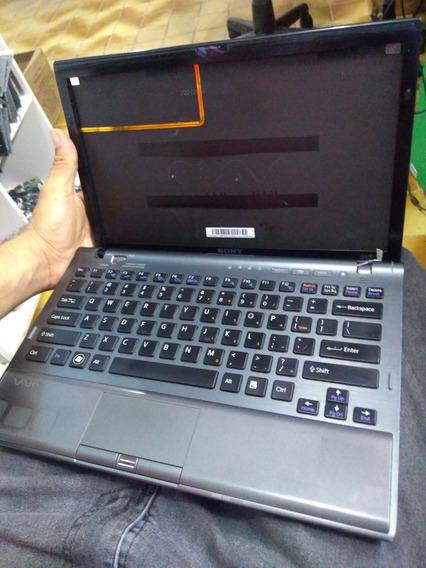 Notebook Sony Vaio Pcg 31112l Vpcz1 I5 Ssd128 Leia
