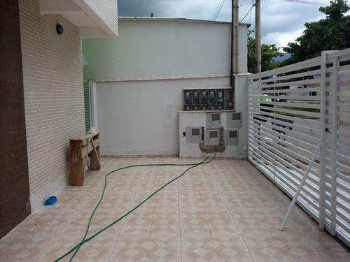 Imagem 1 de 9 de Sobrado Com 2 Dorms, Parque Continental, São Vicente - R$ 175 Mil, Cod: 64 - V64
