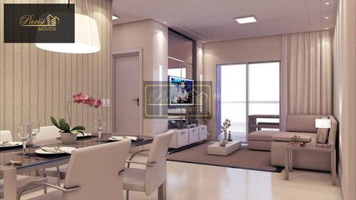 Imagem 1 de 22 de Apartamento Com 1 Dorm, Canto Do Forte, Praia Grande - R$ 444.575,00, 73,41m² - Codigo: 92 - V92
