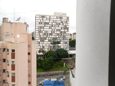Kitnet Com Garagem À Venda, 40 M² Por R$ 170.000 - Centro - Campinas/sp - Kn0094