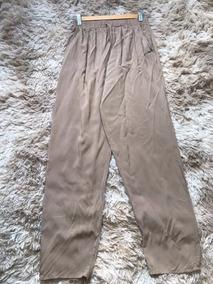 Calças Feminina Viscose Importada Soltinha Lisa Kit Com 2