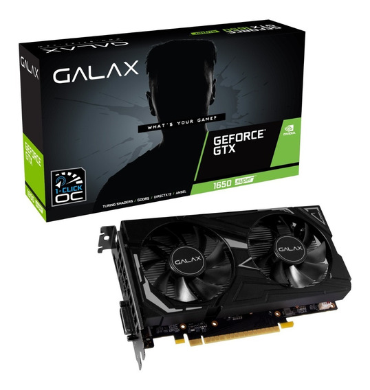 Placa De Vídeo Geforce® Gtx 1650 Super Ex 4gb Gddr6