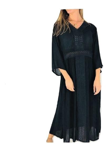 Vestido Hindú Tipo Rapsodia Importado India E/gratis