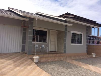 Casa Residencial À Venda, Fundos, Biguaçu. - Codigo: Ca1373 - Ca1373