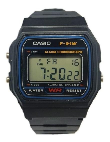 Relógio Casio Vintage Masculino Preto Promoção