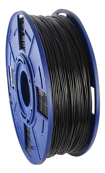Filamento Impressora 3d Pla Preto 1kg 1,75mm