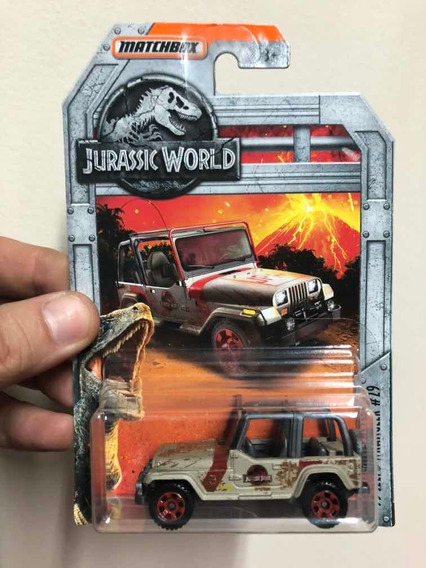 Matchbox Jurassic Park / World Jeep Wrangler Tj #29 Barro