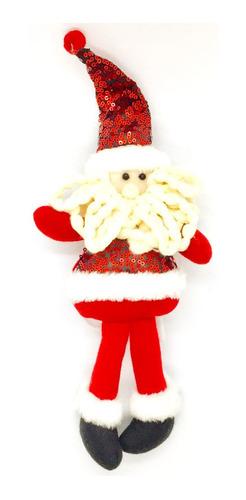 2 Muñecos Santa Sujeta Cortina Casa Decoración Navidad