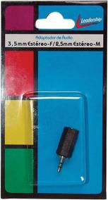 Adaptador Femea 3.5mm / Macho 2.5mm