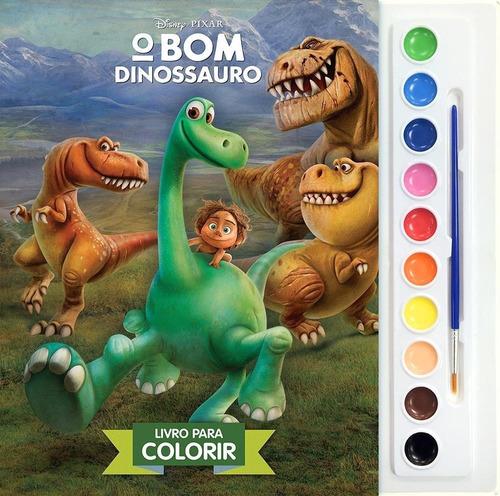 Livro O Bom Dinossauro  Aquarela