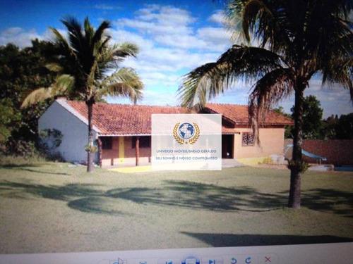 Chácara Com 2 Dormitórios À Venda, 1000 M² Por R$ 495.000,00 - Colina Das Paineiras - Santo Antônio De Posse/sp - Ch0089