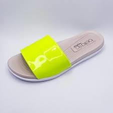 Slide Beira Rio Amarelo Fluor 8360.103