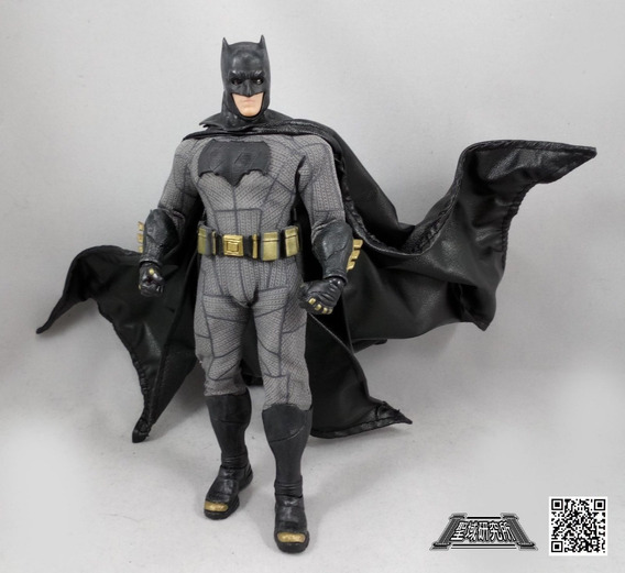 Acessórios 1/12 Roupas-capa Para Mezco Batman Bvs