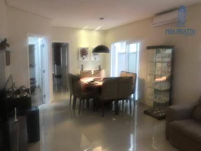 Casa Com 3 Dormitórios À Venda, 173 M² Por R$ 870.000 - Condomínio Terras Do Fontanário - Paulínia/sp - Ca2076