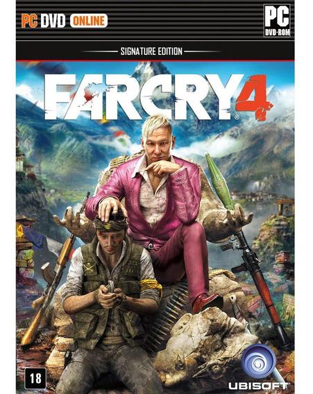 Jogo Far Cry 4 Pc Mídia Física Lacrada