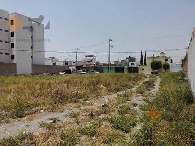 Terreno En Venta En San Andres Cholula, Cerca Del Centro,ideal Para Desarrolladores