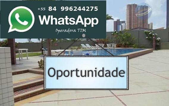 Apartamento Com 2 Quartos, Sendo Um Suíte, Perto Da Praia De Ponta Negra - Edifício Studio Da Praia - Ap0095