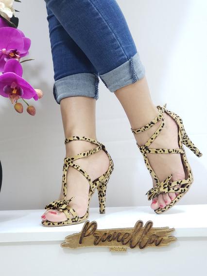 Sandalias Dama Zapatillas Mujer Tacon Casuales 27 /z