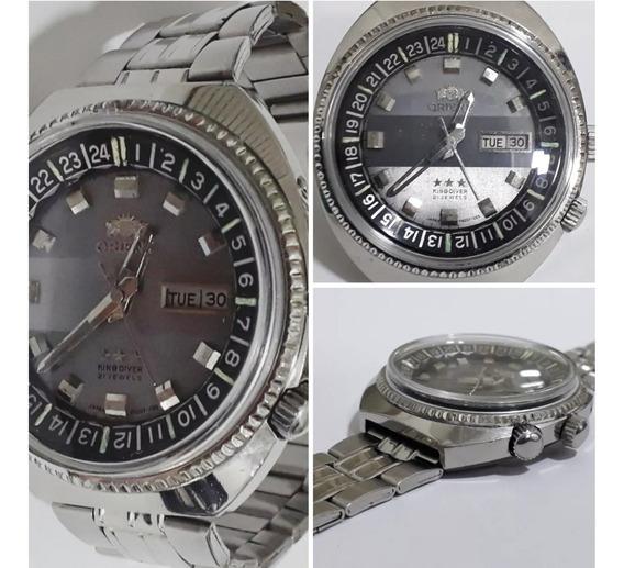 Relógio Orient King Diver Três Chaves
