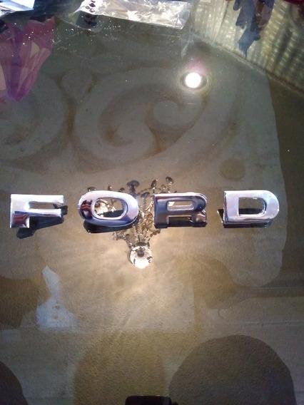 Emblema Letra Ford Pickup1980 1981 1982 1983 1984 1985 1986