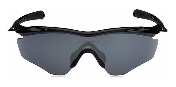 Lentes Oakley M2 Frame Xl Polished Black - Grey Oo9343-01