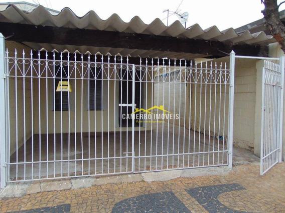 Casa Com 2 Dormitórios Para Alugar, Por R$ 900/mês - Jardim Europa I - Santa Bárbara D