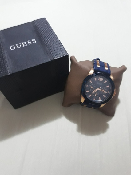 Relógio Guess Pulseira Silicone W0366g4