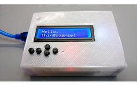 Case P/ Display Lcd 16x2 C/ Botões Arduino Uno