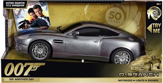 007 Aston Martin V12 Vanquish - Dtc Eletrônico Escala 1/16