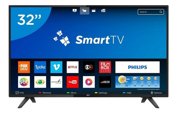 Smart Tv Led 32 Philips 32phg5813 Hd Wi-fi Integrado