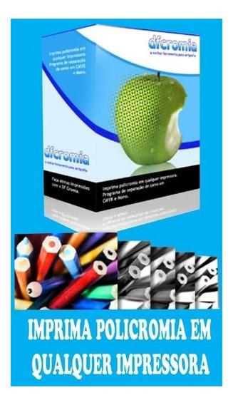Df Cromia - Imprima Policromia Em Qualquer Impressora