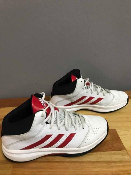 Zapatillas adidas Originales Blancas Y Rojas.