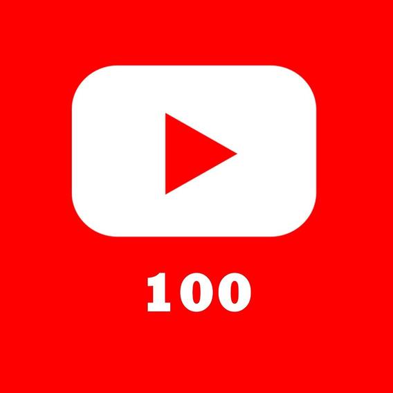 Rankeamento You Tube - 100 Vws