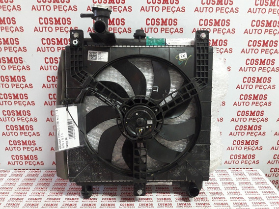 Radiador Completo Renault Kwid 1.0 3cc Com Ar Condicionado