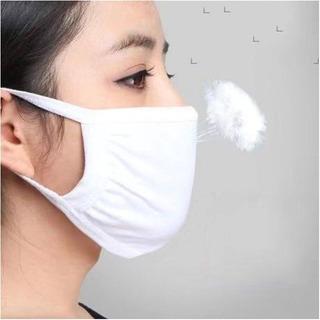5 Un Mascara Respiratória Lavável Tratamento Antimicrobiano