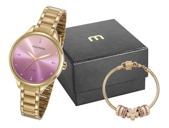 Relógio Mondaine Feminino Origina Garantia Nf 32101lpmkde1k1